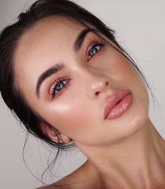 Natural Makeup For Blondes, Natural Summer Makeup, Best Natural Makeup, Natural Eyes, Natural Beauty, Rose Gold Makeup, Pink Makeup, Face Makeup, Fresh Makeup