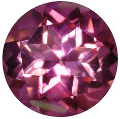 Natural Fine Vivid Mystic Pink Topaz - Round - Brazil - Top Grade - NW Gems & Diamonds