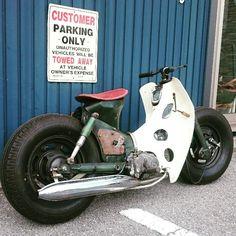 「scooter custom cub」の画像検索結果