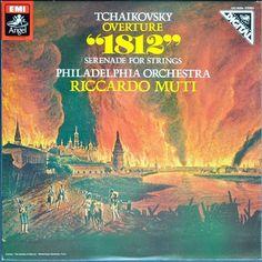 "Tchaikovsky – Overture ""1812"" / Serenade For Strings. Philadelphia Orchestra, Riccardo Muti"