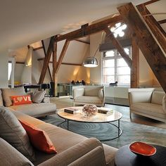 #ShareIG St. Pancras Penthouse by TG Studio #homeadore #interior #interiors #interiordesign #interiordesigns #livingroom #residence #penthouse #apartment #loft #flat #home #casa #property #london #unitedkingdom #uk #tgstudio