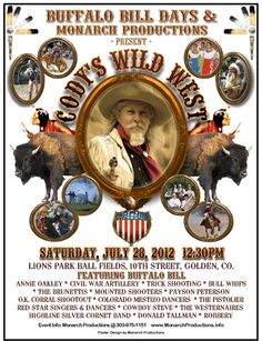 Buffalo Bill Days | YouTube link for Wild West show reenactment