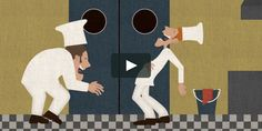 """This is """"Korte animatiefilm 'Een ober van niks'"""" by David van Neerbos on Vimeo, the home for high quality videos and the people who love them."""