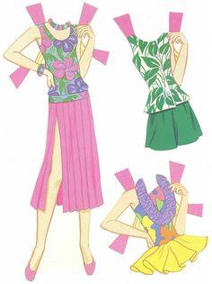 Paper Dolls~Tropical Barbie - Bonnie Jones - Álbumes web de Picasa