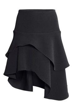 Falda asimétrica con volantes | H&M