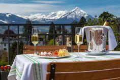 Hotelfotografie für das Adult- Hotel Carlton-Europe in Interlaken Corporate Fotografie, Hotels, Restaurant, Outdoor Furniture, Outdoor Decor, Switzerland, Europe, Photography, Home Decor