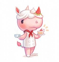Merengue - Animal Crossing  I hope she comes to my town.