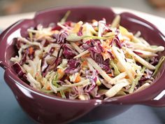 Kimberly Schlapman's Sweet and Tangy Coleslaw. Get the recipe >>  http://www.greatamericancountry.com/living/food/sweet-and-tangy-coleslaw?soc=pinterest