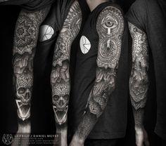 amaze tattoo!! via http://blog.tattoodo.com/