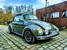 Volkswagen, Old Bug, Vw Super Beetle, Beetle Convertible, Fuel Injection, Vw Beetles, Simile, Cars, Classic