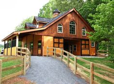 I'm not sure what that is above the barn, but if it were mine, it would be my home! <3  If you're shopping for your dream horse farm, keep an eye on the Real Estate section at PaHorseMall.com! -- http://pahorsemall.com/ad-category/real-estate/