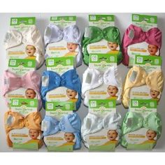 Bumgenius Organic Elemental 12 Pack of Cloth Diapers $250 #CottonBabies