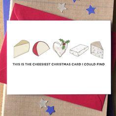 Cheesy Christmas Card More