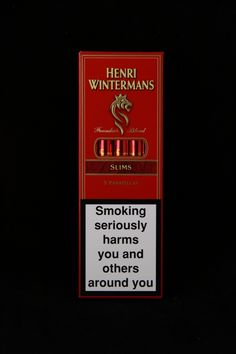 Henri Winterman Slims Cigars Family