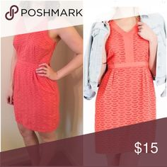 Old Navy Sweet Coral Eyelet Dress NEW Old Navy Sweet Coral Eyelet Dress. Size 8, New without attached tags. Beautiful for spring season and garden parties 🌺. 📦Bundle with another item for a 15% discount. Old Navy Dresses Midi