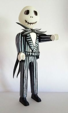 FIGURA Jack Skellington Skeleton  - PLAYMOBIL CUSTOM