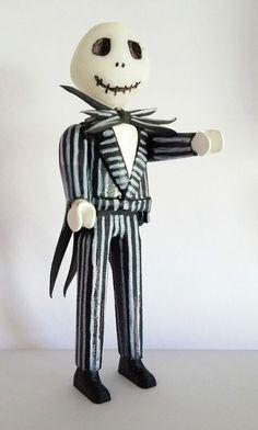 FIGURA Jack Skellington Skeleton  - PLAYMOBIL CUSTOM