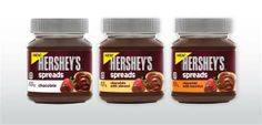 Hershey's unveils a chocolate spread to rival Nutella: Thank the Food Gods, an all Chocolate version with NO nut flavor ! I'm no fan of Nutella, I just don't want nut flavors in my chocolate spread. Hershey to the rescue! Chocolate Spread, Hershey Chocolate, Chocolate Hazelnut, Sin Gluten, Biscuits Packaging, Hazelnut Spread, Chocolate Packaging, Best Breakfast Recipes, New Recipes