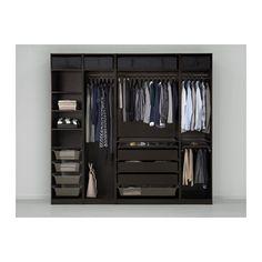 Ikea schwarzbraun schrank  Möbel & Einrichtungsideen für dein Zuhause | Pinterest | Ikea pax ...