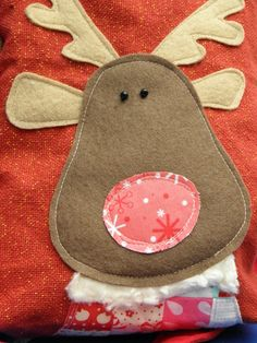 Clover & Violet — Rudolph Bag {Tutorial – Sewing with Children}