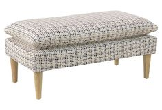 This bench is great in the entryway, living room or at the foot of the bed.