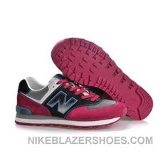 newest 893e3 43ceb Hot New Balance 574 Mens Black Grey Red. Michael Jordan Shoes ...