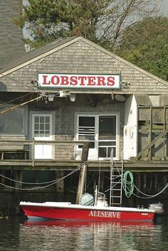 LOBSTER SHACK on Nantucket, an island off the coast of Massachusetts.