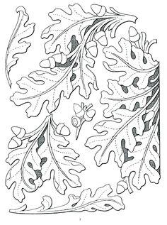 leaf chip carving