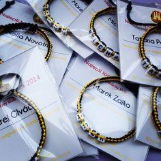 Aj najlepší športovci AŠK Inter-u za rok 2014 nosia náramky od nás./Bracelets for the best sportsmen of ASK INTER in 2014. #naramkovo #askinter #thebest #sportmen #naramok