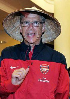 Arsenal meet the 'Running Man'