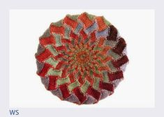 Entrelac knitting has experienced a revival with the advent of long-repeat self-striping yarns. This entrelac hat , the Kaleidoscope Tam. Knitting Projects, Knitting Patterns, Color Change, Knitted Hats, Stitch, Crafts, Yarns, Repeat, Advent