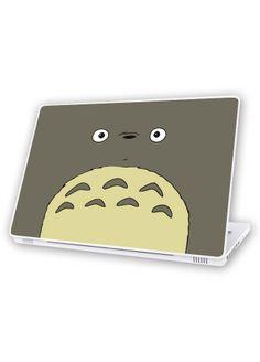 For my laptop! Totoro, Studio Ghibli, Geek Out, Kawaii Cute, Studios, Mermaid, Geek Stuff, Laptop, Stickers