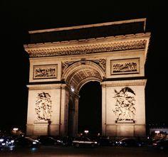 Arc du Triomphe, Paris.