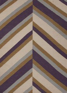 - Maroc new An array of simple flat weave designs in wool - from simple modern geometrics to stripes and Ikats. Colors look modern and fresh and very contemporary. Contemporary Rugs, Modern Rugs, Wool Area Rugs, Wool Rug, Herringbone Rug, Nautical Rugs, Jaipur Rugs, Purple Home, Pink Purple