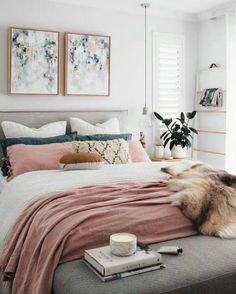 aesthetic rose, quartos, decoração quarto, decoração simples, decoração rosa