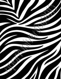 hojas decoradas para imprimir de animal print - Buscar con Google