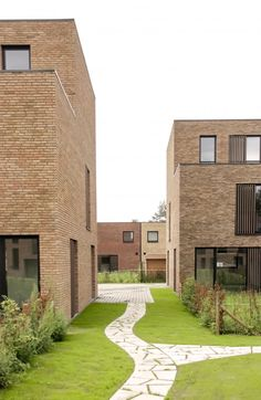 Factory Architecture, Plans Architecture, Landscape Architecture, Architecture Design, Community Housing, Social Housing, Urban Planning, Urban Design, Building A House
