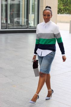 interesting take on bermuda shorts///NuSophisticate