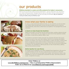 What makes Wildtree Products so special? www.HealthyRecipesQuick.com