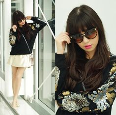Something Up my Sleeve (by Kryz Uy) http://lookbook.nu/look/4680699-Something-Up-my-Sleeve