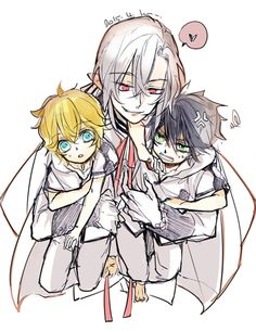 Owari no Seraph (edit- I really dislike Ferid, but I have to give him credit for trying to make MikaYuu canon.)