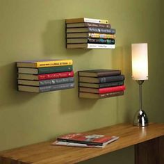 Estanter�as flotantes. | 24 regalos incre�blemente ingeniosos para los amantes de los libros