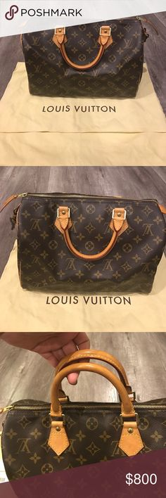 Speedy 30 Used a few times in 9/10 condition. Louis Vuitton Bags Satchels