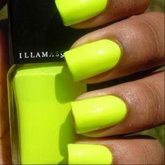 Knallende neon nagels van we_fashion