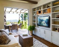 Wall Mounted Flat Screen Tv Design, Pictures, Remodel, Decor and Ideas - page 4