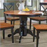 Home Styles Round Pedestal Dining Table