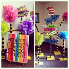 Dr. Seuss YW in Excellence decorations