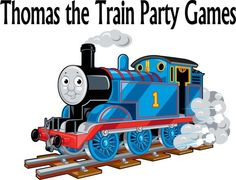 Thomas the Train Birthday Party Games, Ideas, and printables!