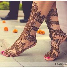 Spiral henna design | wedfine.com |