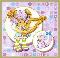 Strawberry Shortcake Calendar: Angel Cake